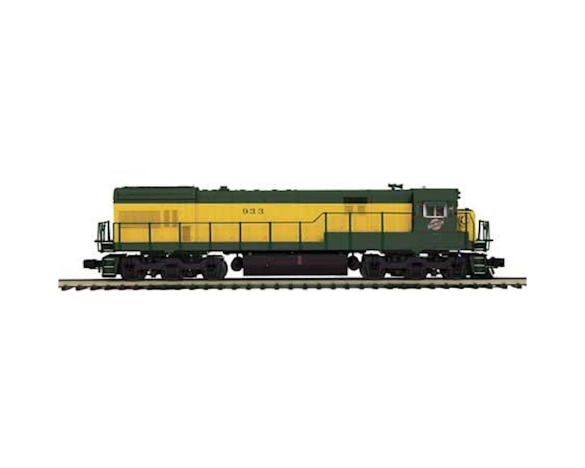 MTH Trains O Hi-Rail U30C w/PS3, C&NW #933
