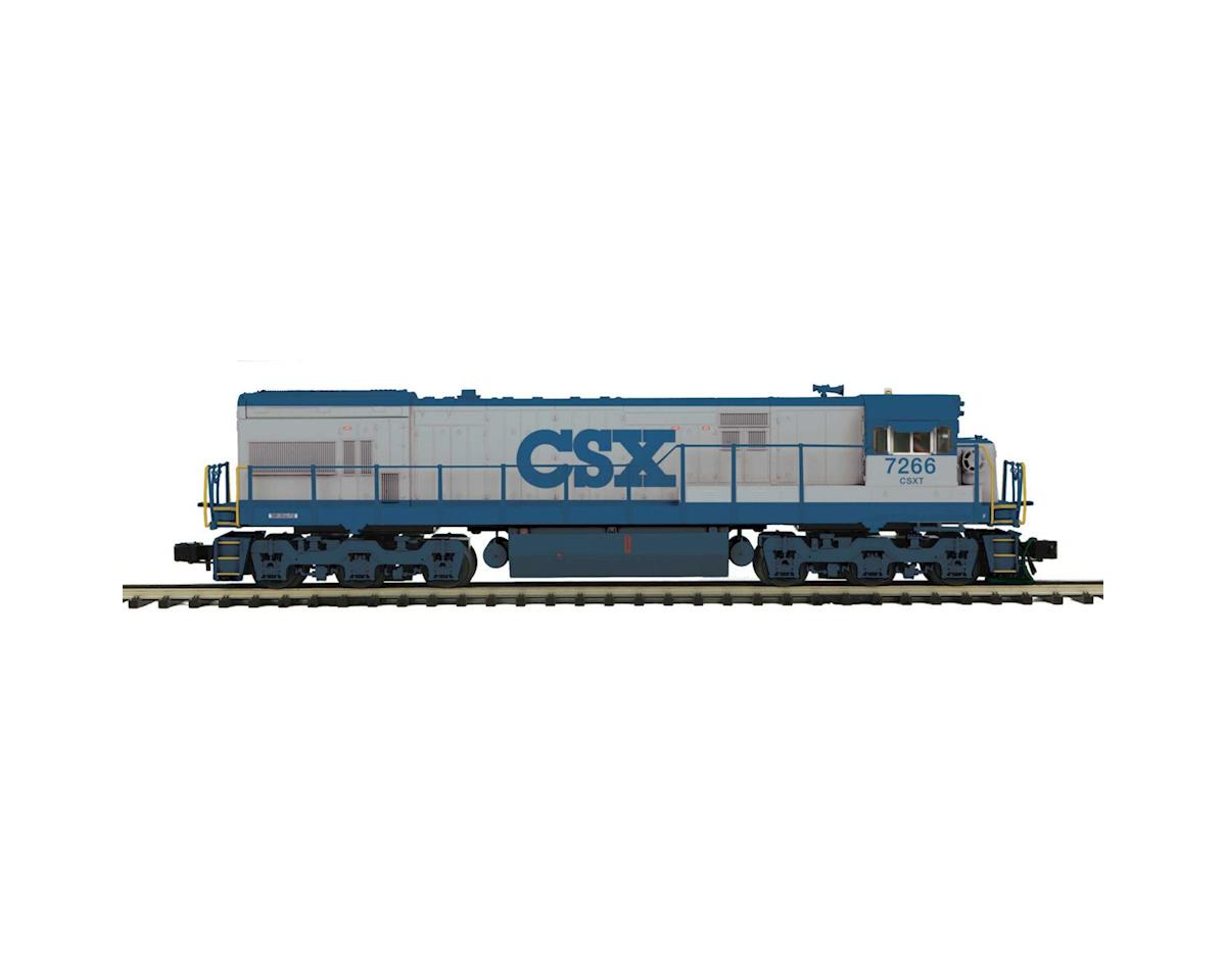 MTH Trains O Hi-Rail U30C w/PS3, CSX #7266