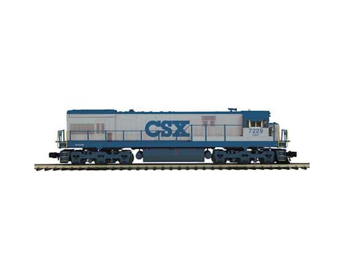 MTH Trains O Hi-Rail U30C w/PS3, CSX #7229