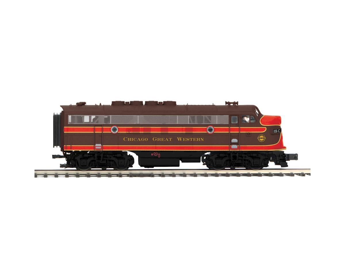 MTH Trains O Hi-Rail F3A Dummy, CGW #106-C