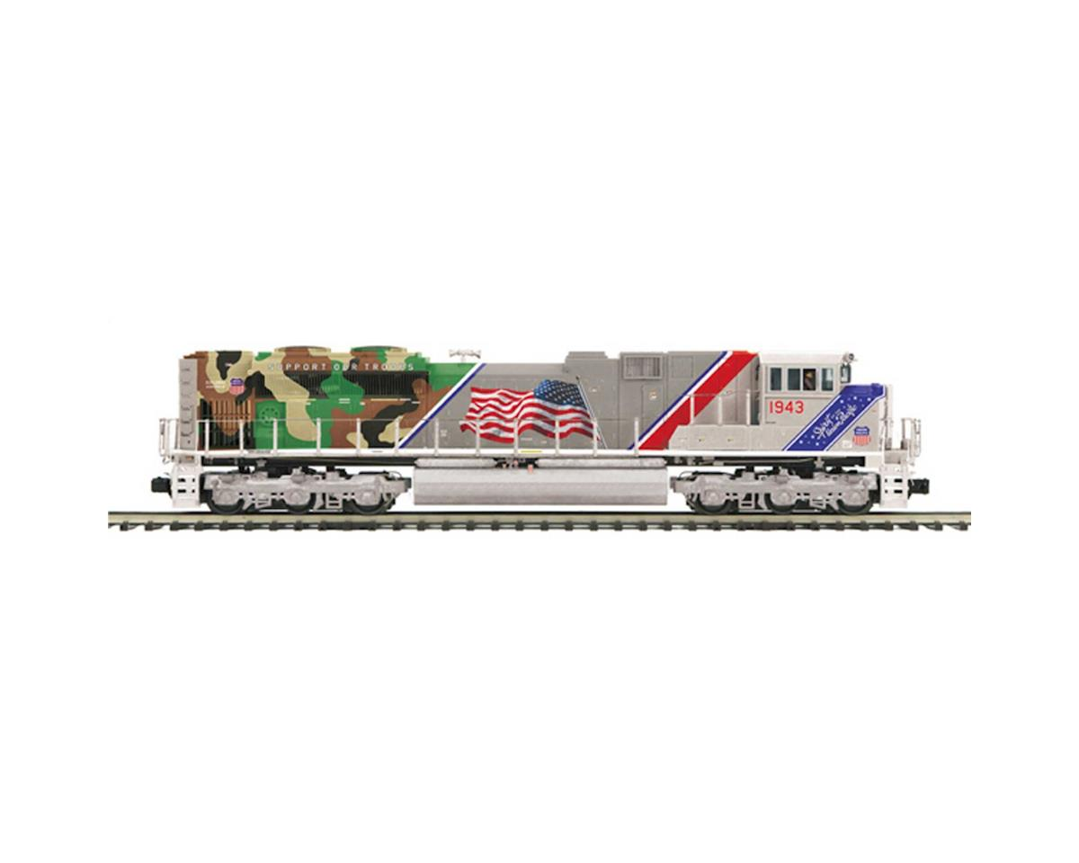 MTH Trains O Hi-Rail SD70ACe w/PS3, UP/Spirit of UP #1943