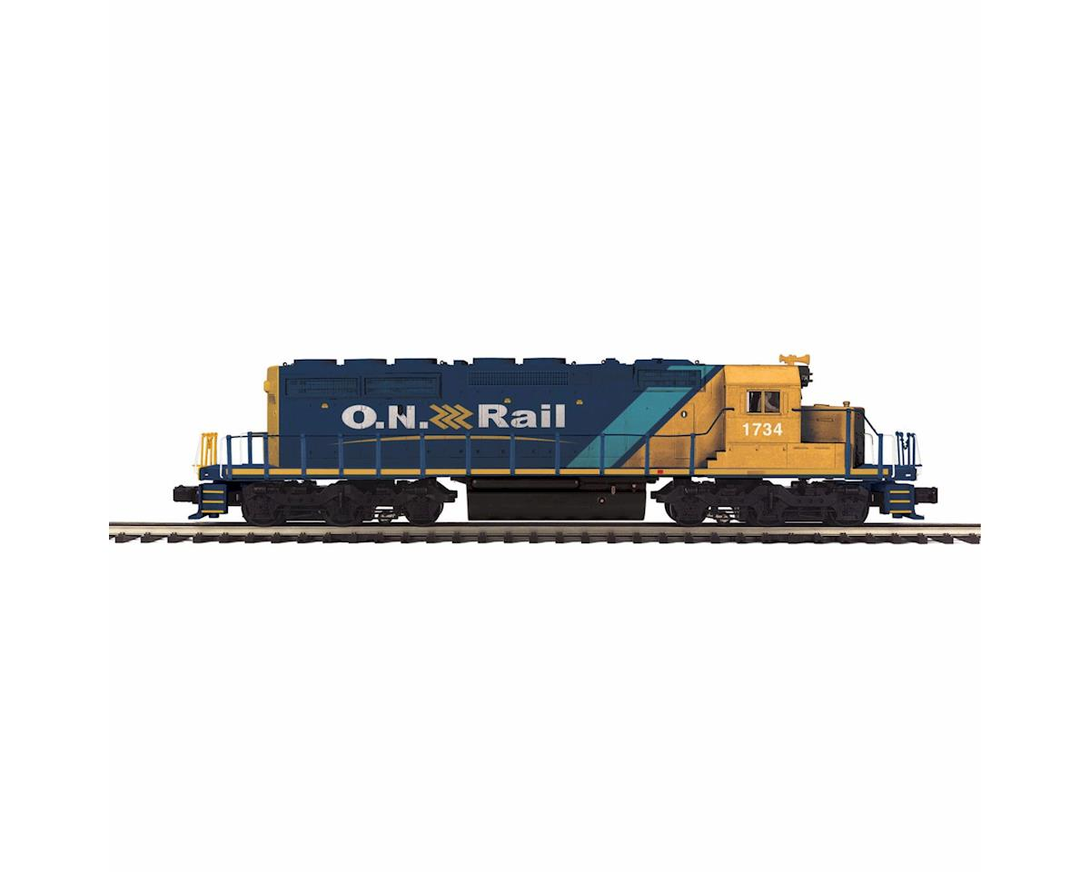 MTH Trains O-27 SD40-2 w/PS3, ONT #1734