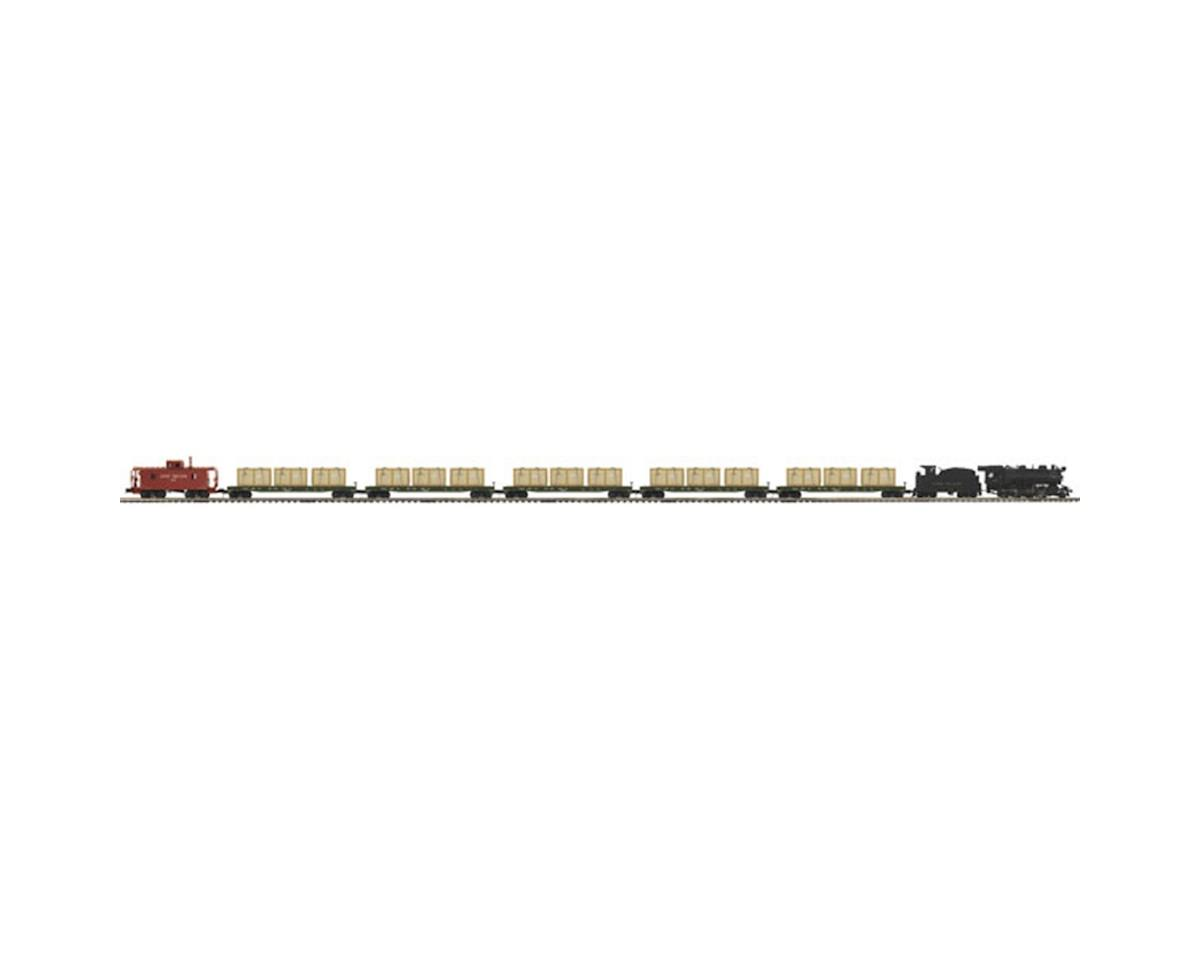 MTH Trains O 2-8-0 H10s Consolidaton Freight Set w/PS3, LIRR