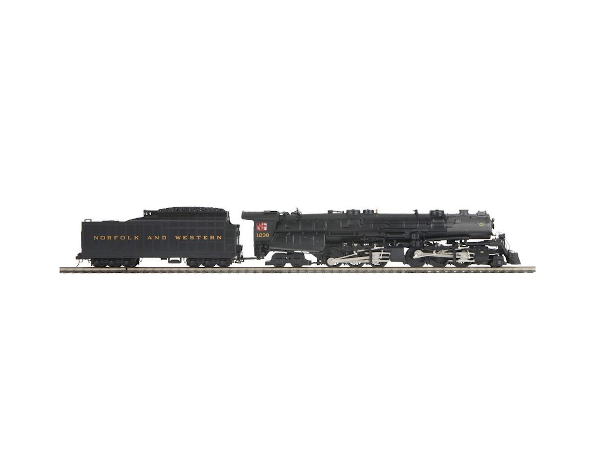 MTH Trains O Hi-Rail 2-6-6-4 Class A w/PS, N&W #1
