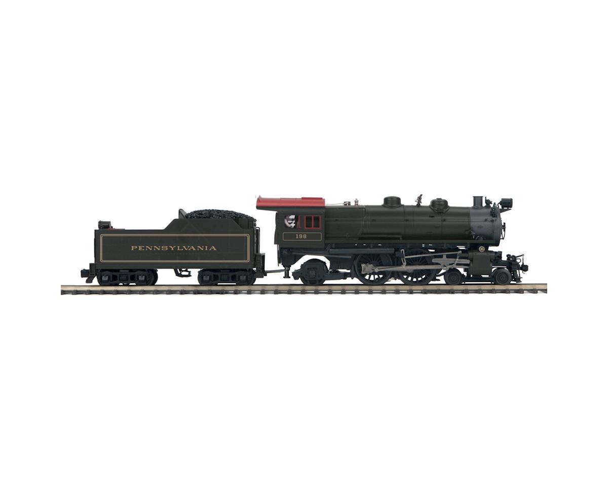 MTH Trains O Hi-Rail 4-4-2 Atlantic w/PS3, PRR #198