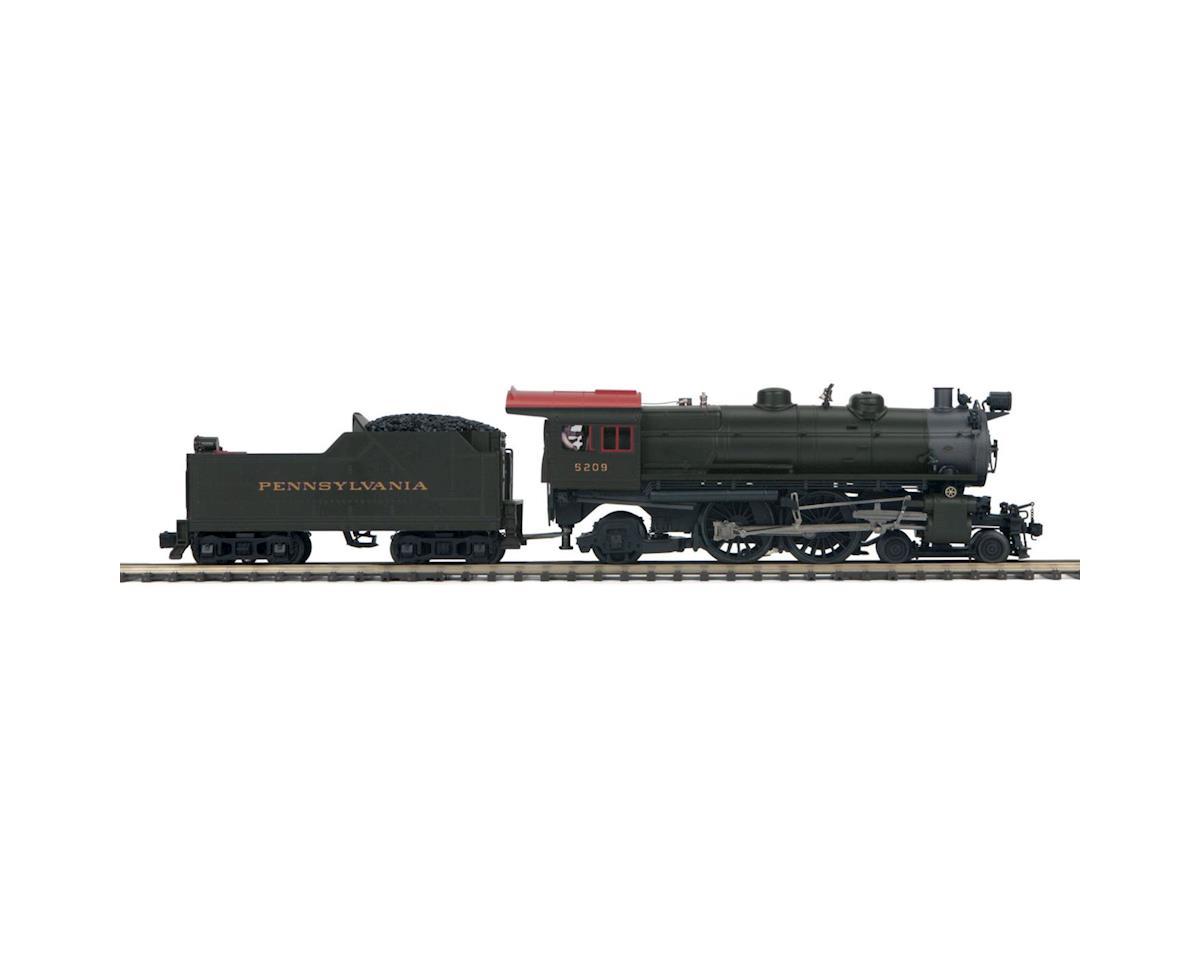 MTH Trains O Hi-Rail 4-4-2 Atlantic w/PS3, PRR #5209