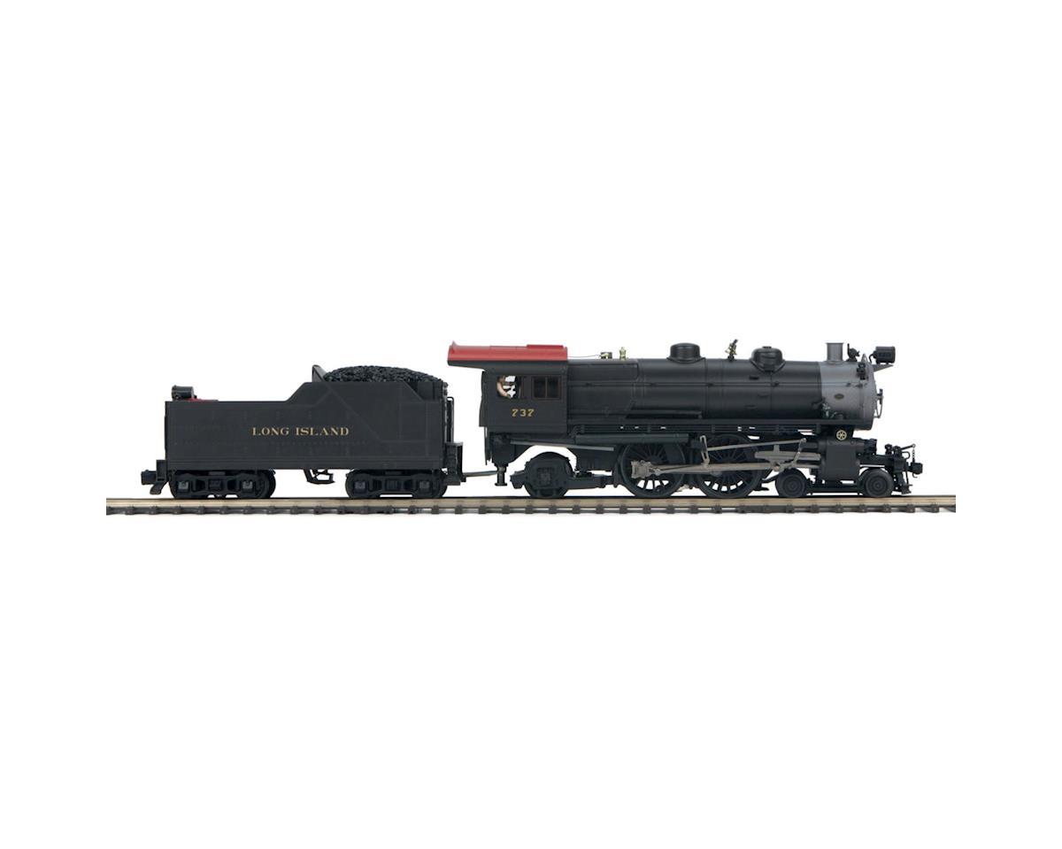 MTH Trains O Hi-Rail 4-4-2 Atlantic w/PS3, LIRR #737