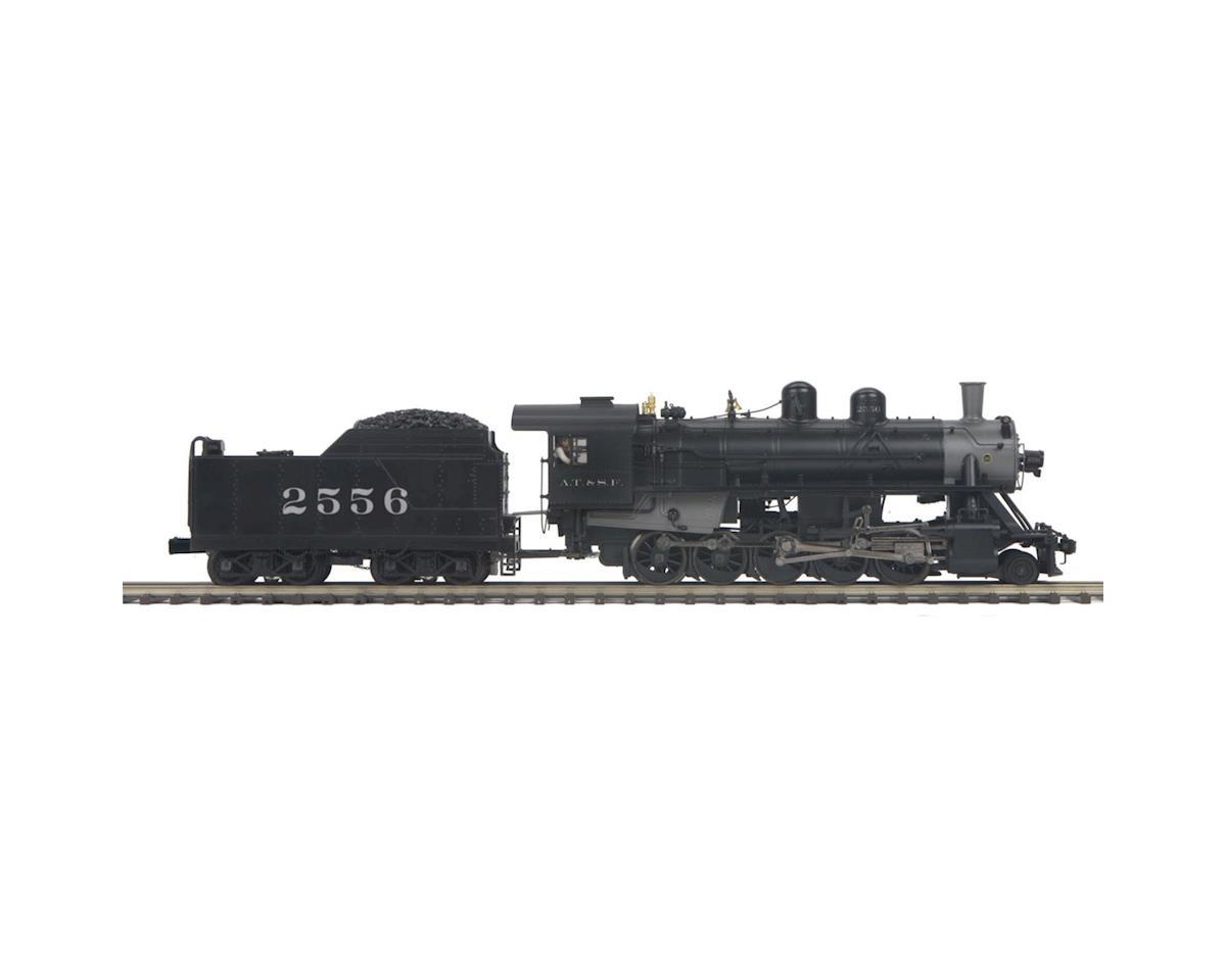 MTH Trains O Hi-Rail 2-10-0 Russian Decapod w/PS3, SF #2555
