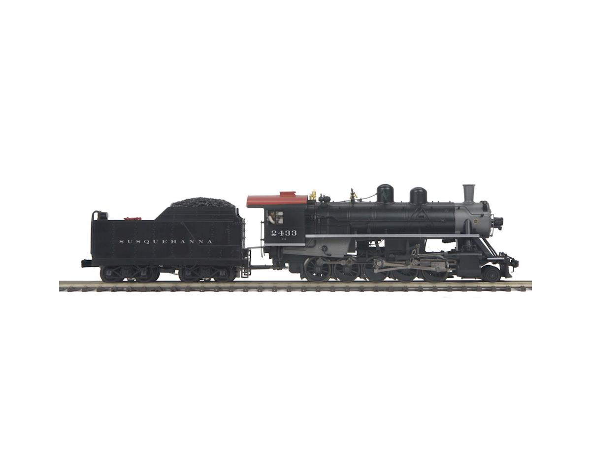 MTH Trains O Hi-Rail 2-10-0 Russian Decapod w/PS3,NYS&W #2433