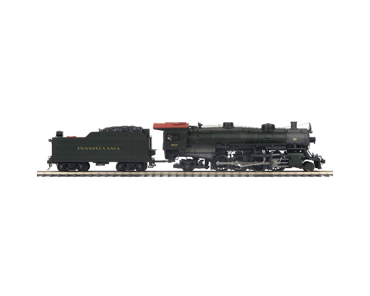 MTH Trains O Hi-Rail 2-8-2 Mikado w/PS3, PRR #9627
