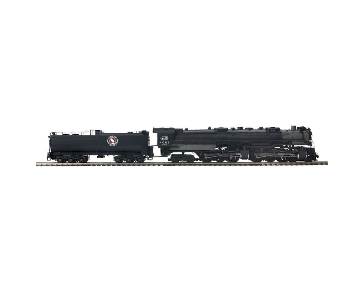 MTH Trains O Hi-Rail 4-6-6-4 Z-6 Challenger w/PS3, GN #4001