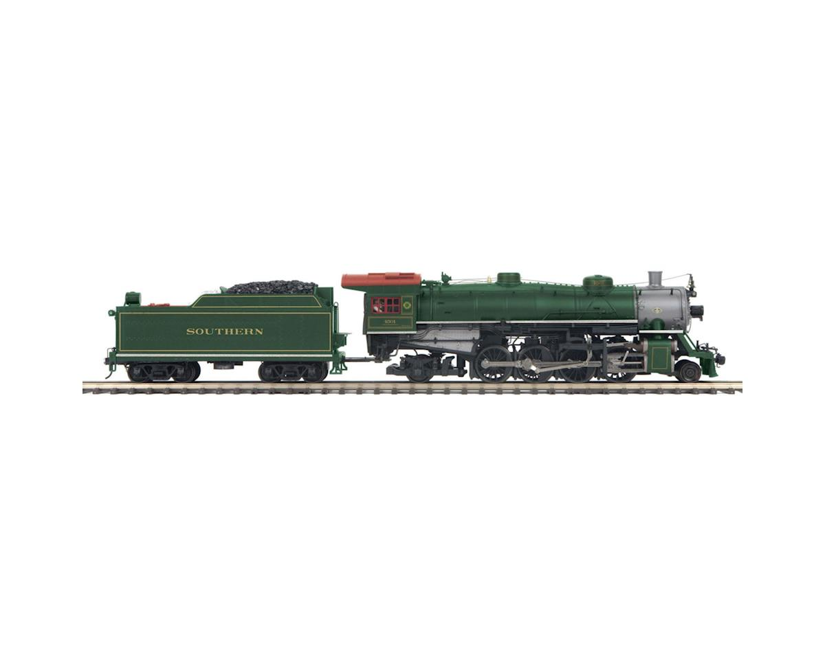 MTH Trains O Hi-Rail 2-8-2 Mikado w/PS3, SOU/Green #4501