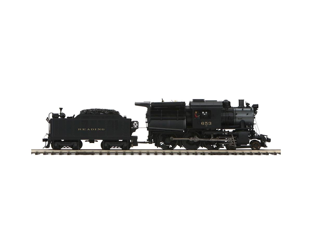 MTH Trains O Hi-Rail 4-6-0 Camelback w/PS3, RDG #653