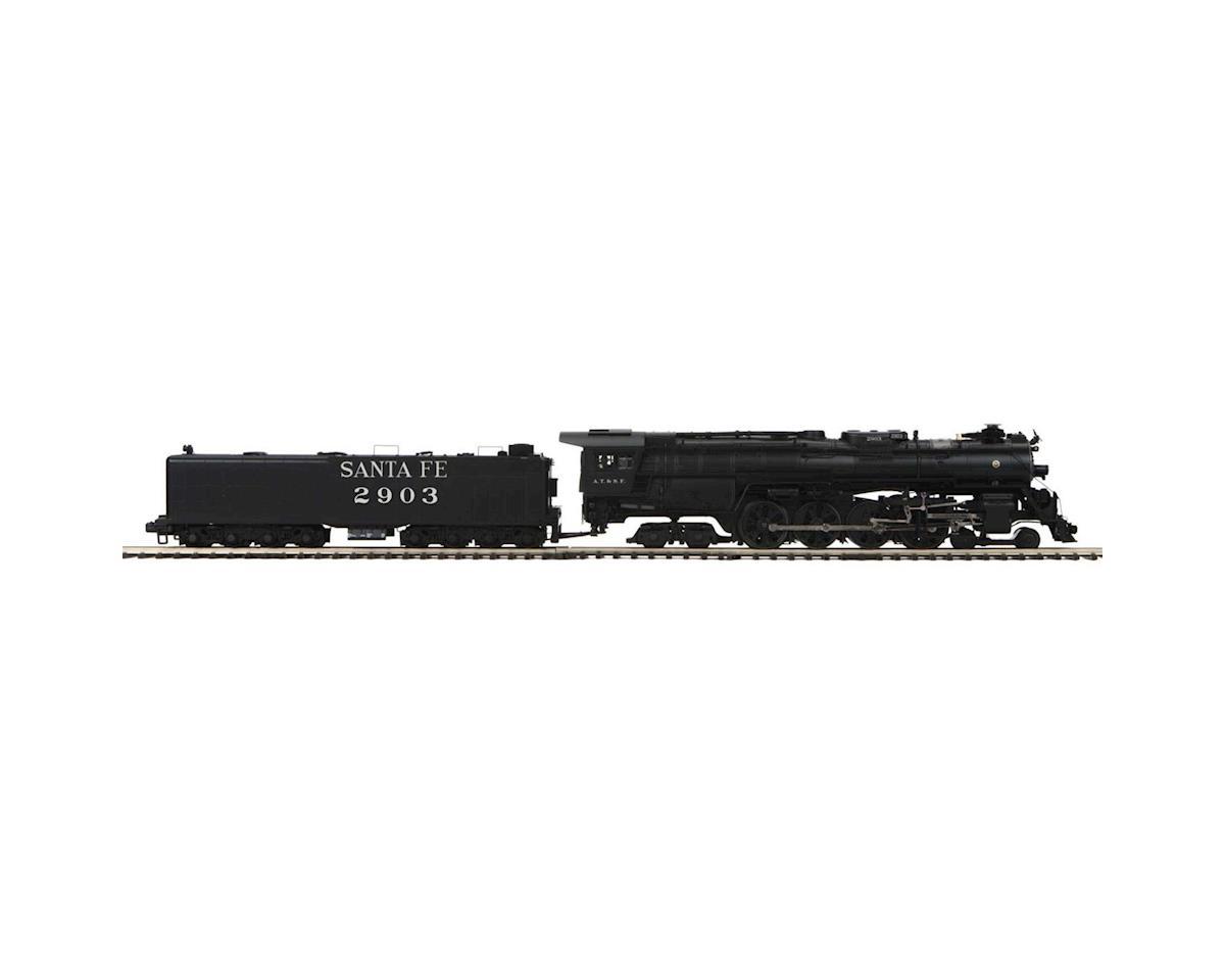 MTH Trains O Hi-Rail 4-8-4 Northern w/PS3, SF #2903