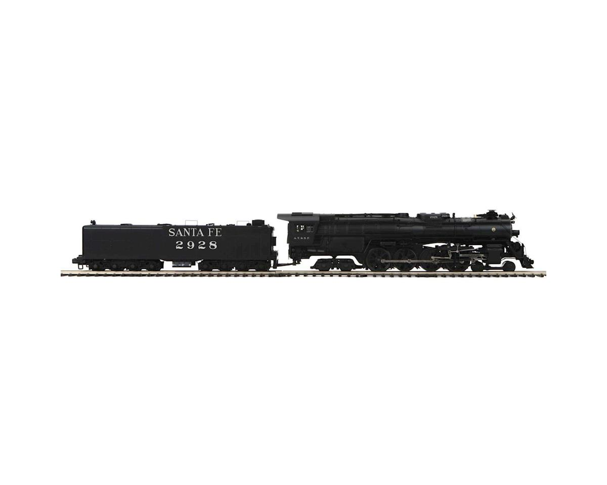MTH Trains O Hi-Rail 4-8-4 Northern w/PS3, SF #2928