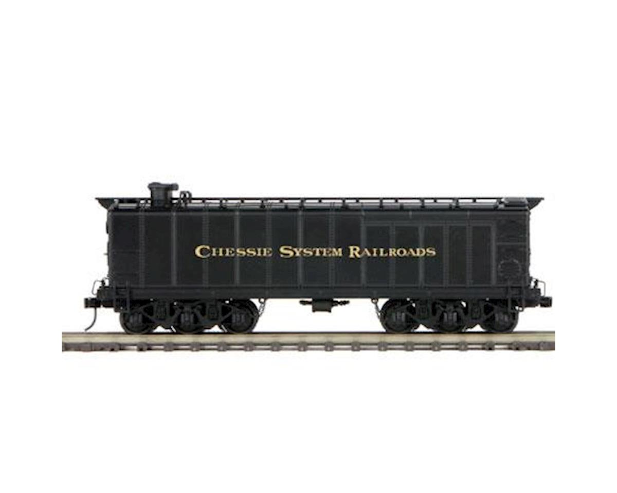 O Hi-Rail Auxillary Water Tender II, Chessie by MTH Trains