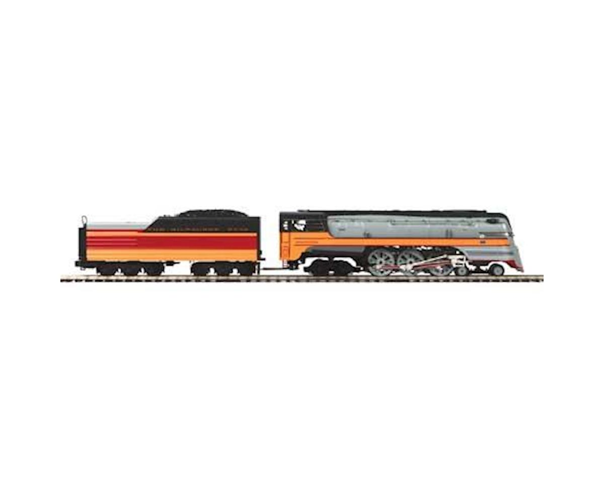 MTH Trains O 4-6-4 Hiawatha w/PS3, MILW #103