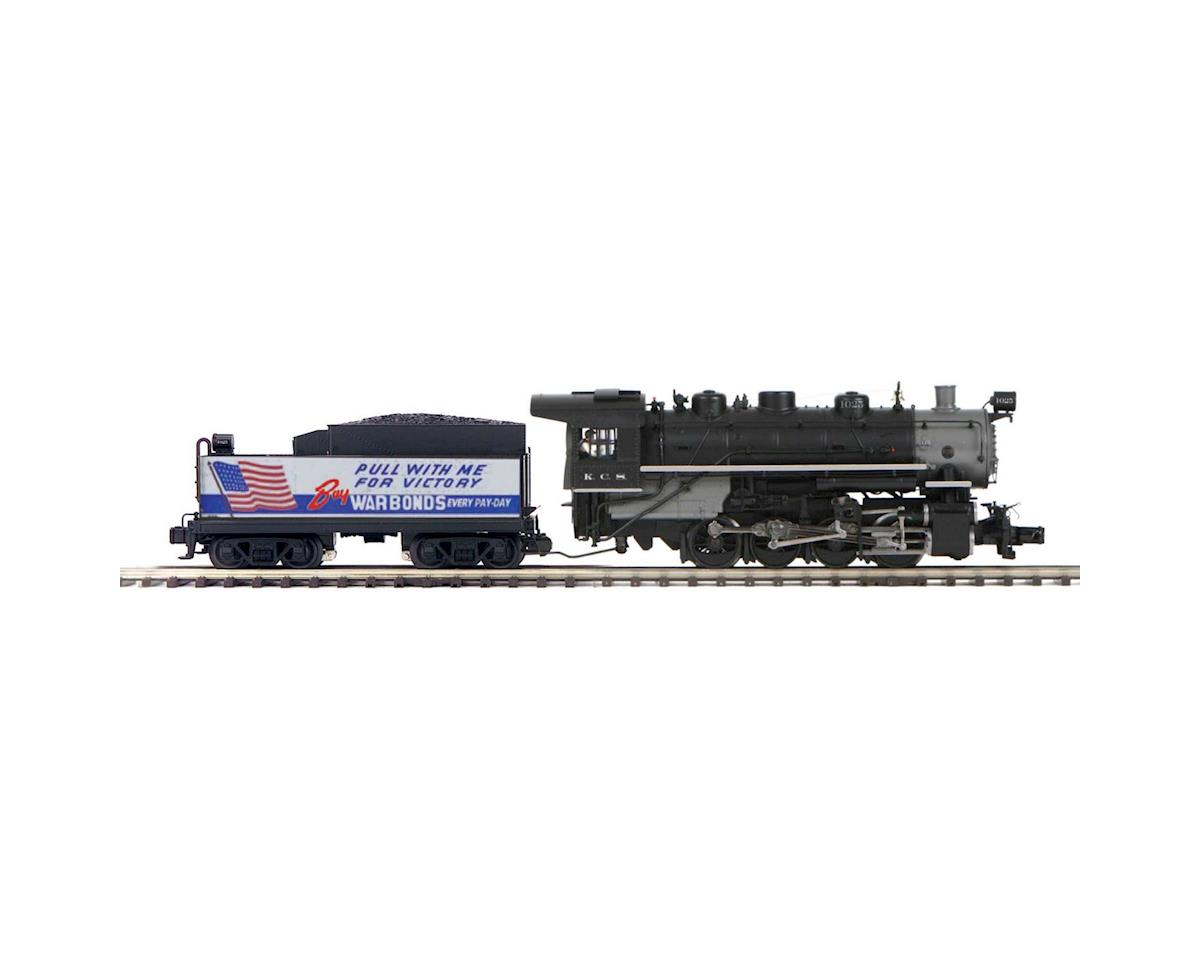 MTH Trains O Hi-Rail 0-8-0 w/PS3, KCS #1025