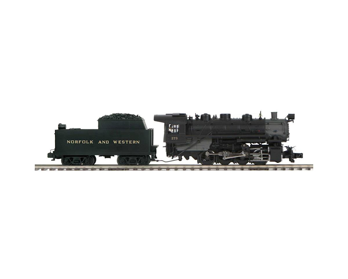 MTH Trains O Hi-Rail 0-8-0 w/PS3, N&W #273