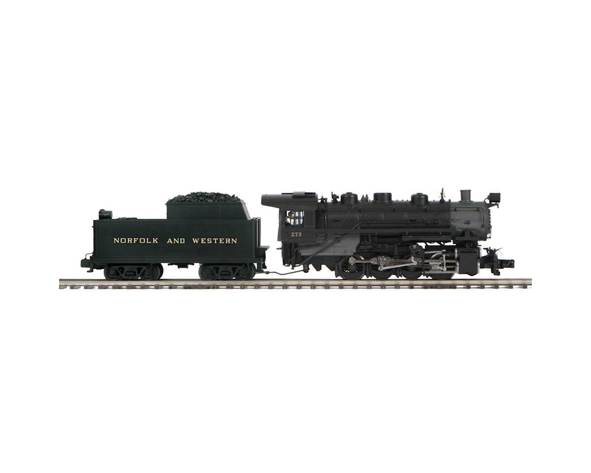 MTH Trains O Hi-Rail 0-8-0 w/PS3, N&W #273