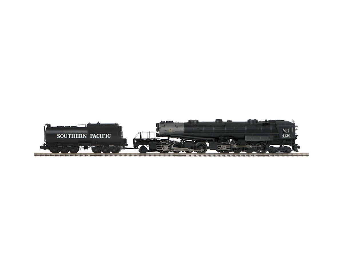MTH Trains O Hi-Rail 4-8-8-2 AC6 Cab Forward w/PS3, SP #4136