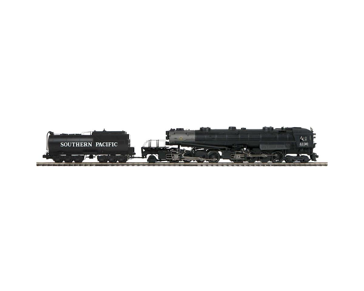 MTH Trains O Hi-Rail 4-8-8-2 AC6 Cab Forward w/PS3, SP #4136
