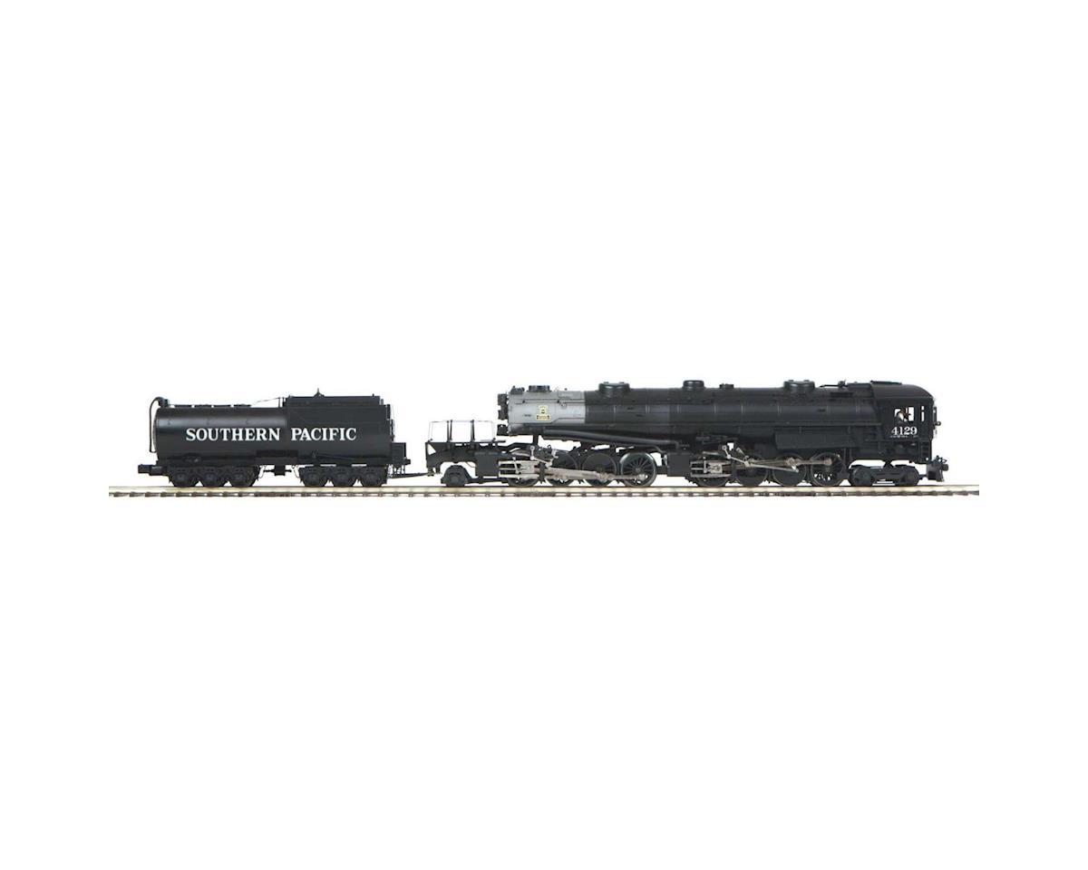 MTH Trains O Hi-Rail 4-8-8-2 AC6 Cab Forward w/PS3, SP #4129