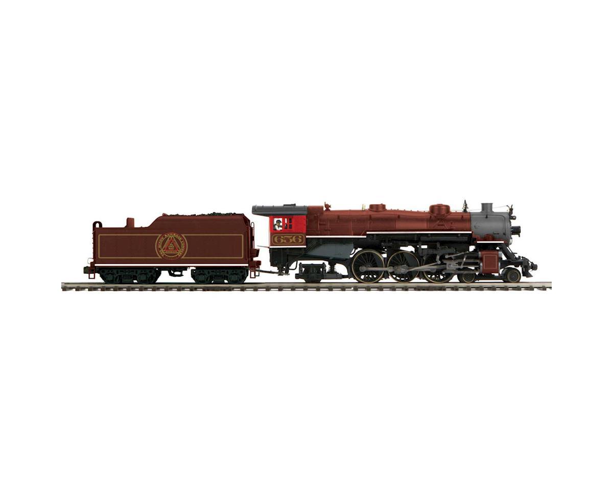 MTH Trains O 4-6-2 Pacific w/PS3, C&A #656