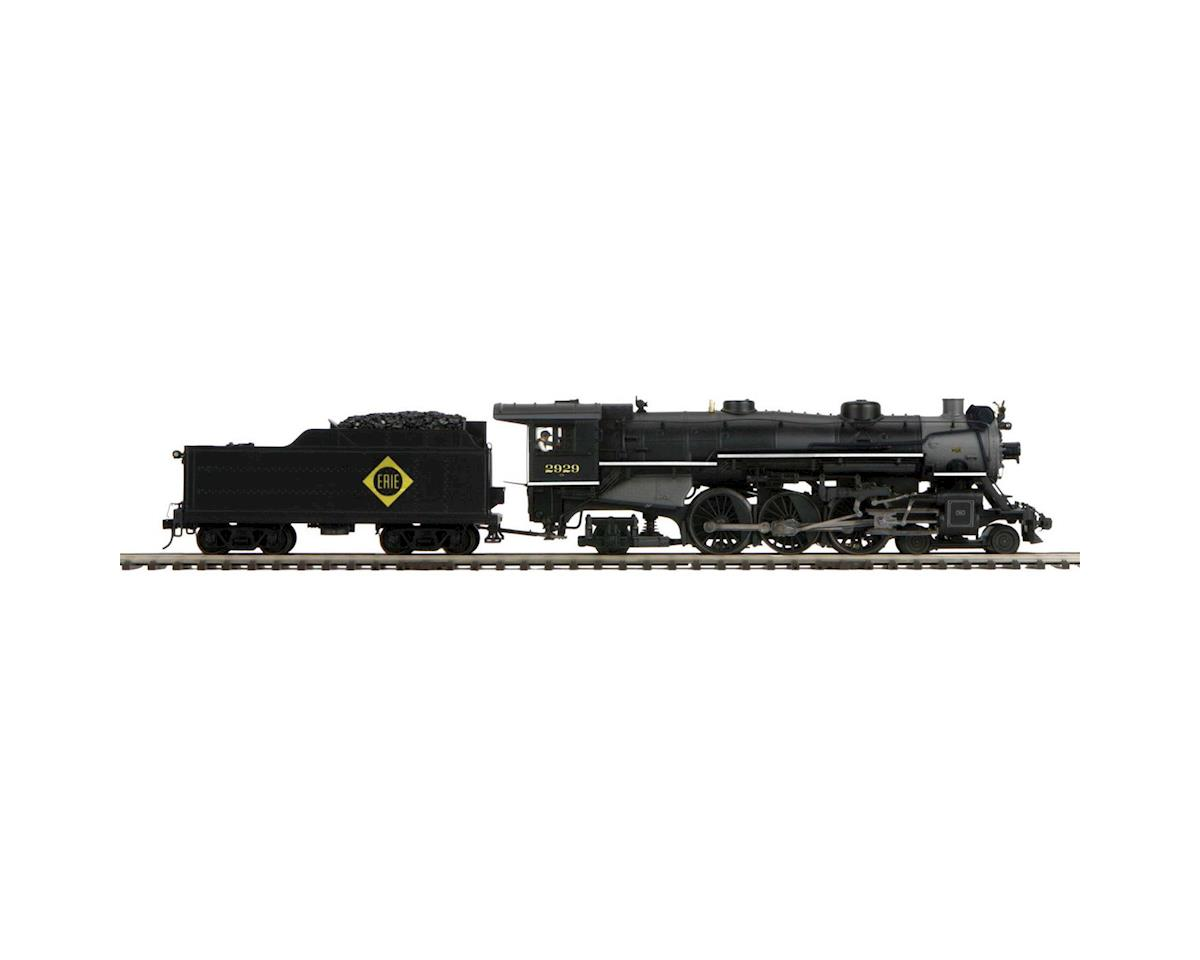 MTH Trains O 4-6-2 Pacific w/PS3, Erie #2929