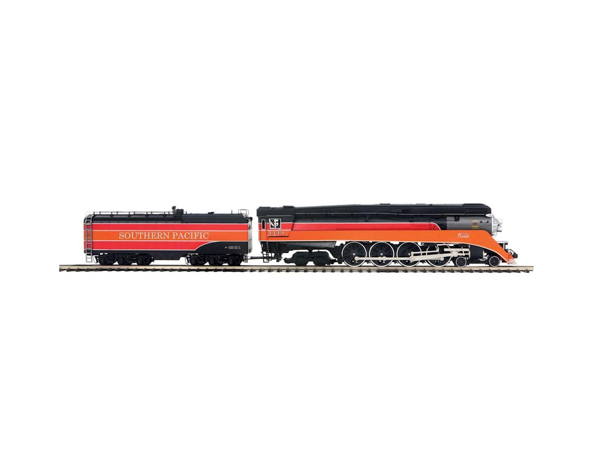 O Hi-Rail 4-8-4 GS-4 w/PS3, SP #4449 by MTH Trains