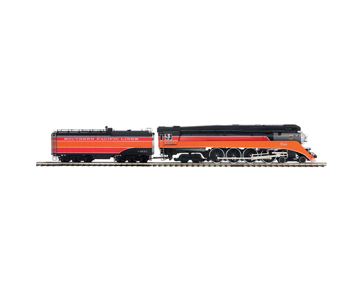 MTH Trains O Hi-Rail 4-8-4GS-4 w/PS3, SP Lines #4436