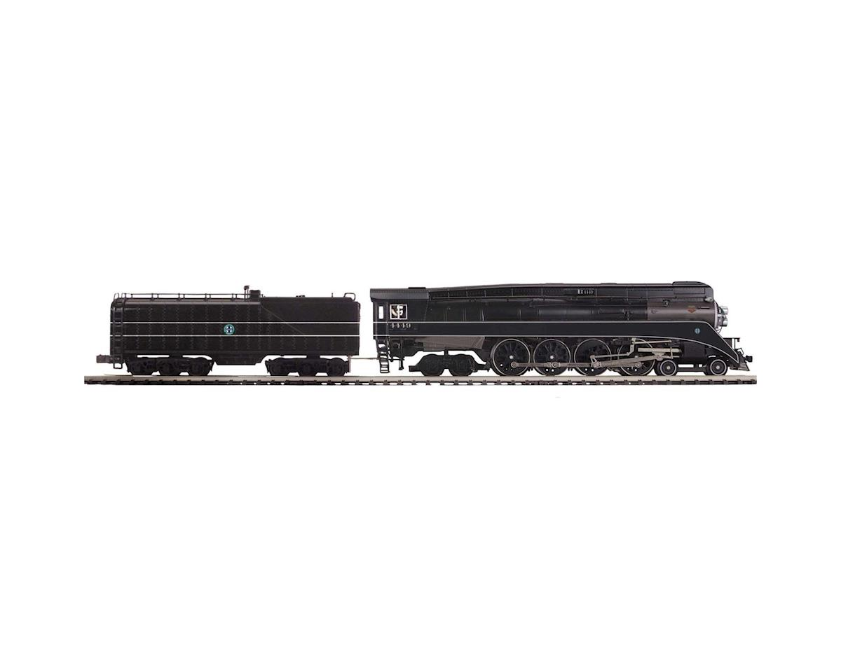 MTH Trains O Hi-Rail 4-8-4 GS-4 w/PS3, BNSF #4449