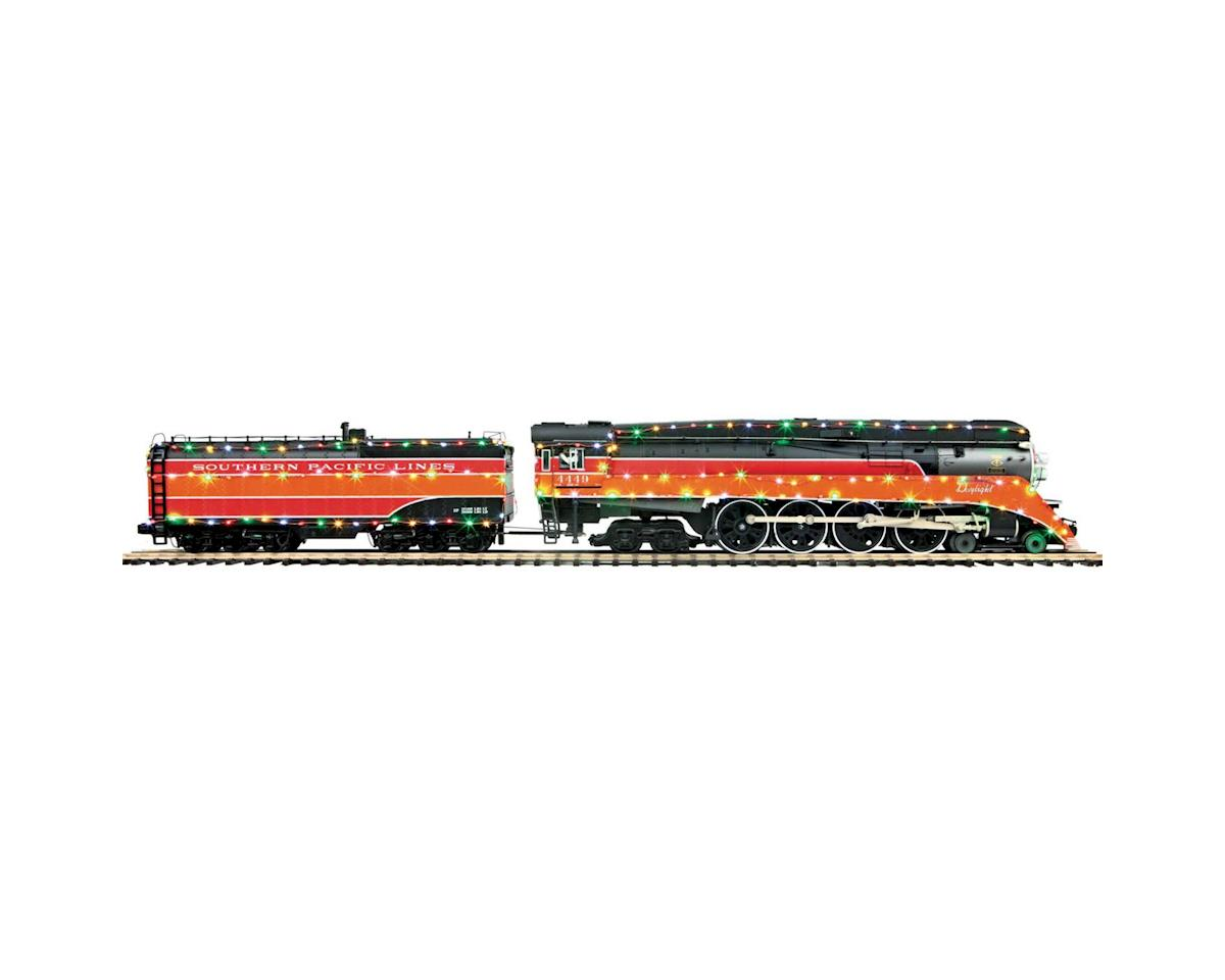 O Hi-Rail 4-8-4 GS-4 w/PS3, SP#4449 by MTH Trains