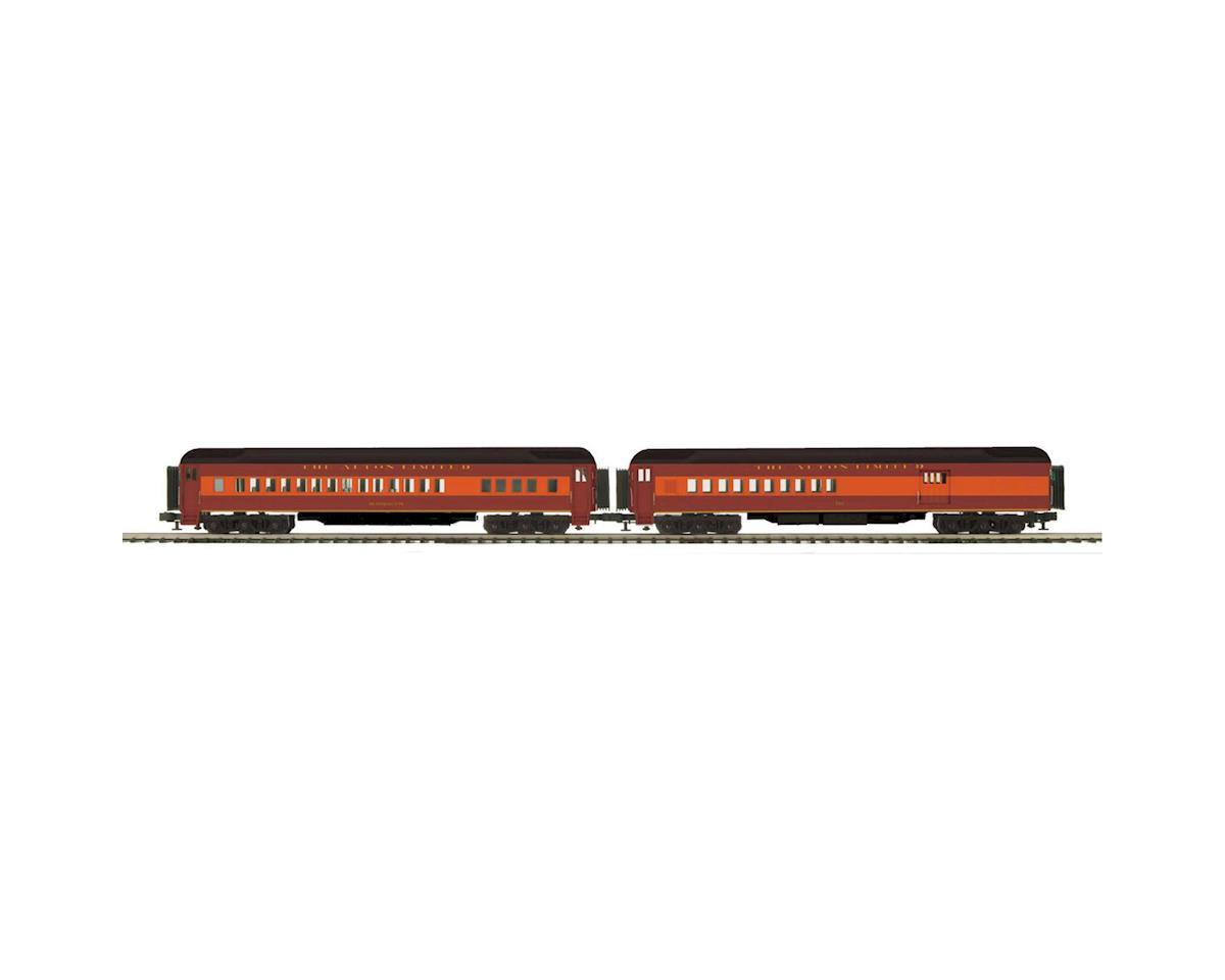 MTH Trains O 70' Madison Comb/Diner, C&A