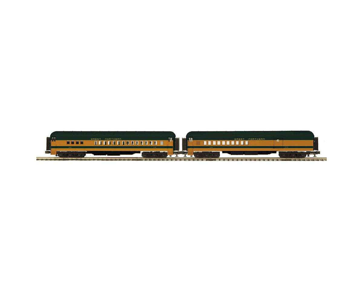 MTH Trains O 70' Madison Comb/Diner, GN