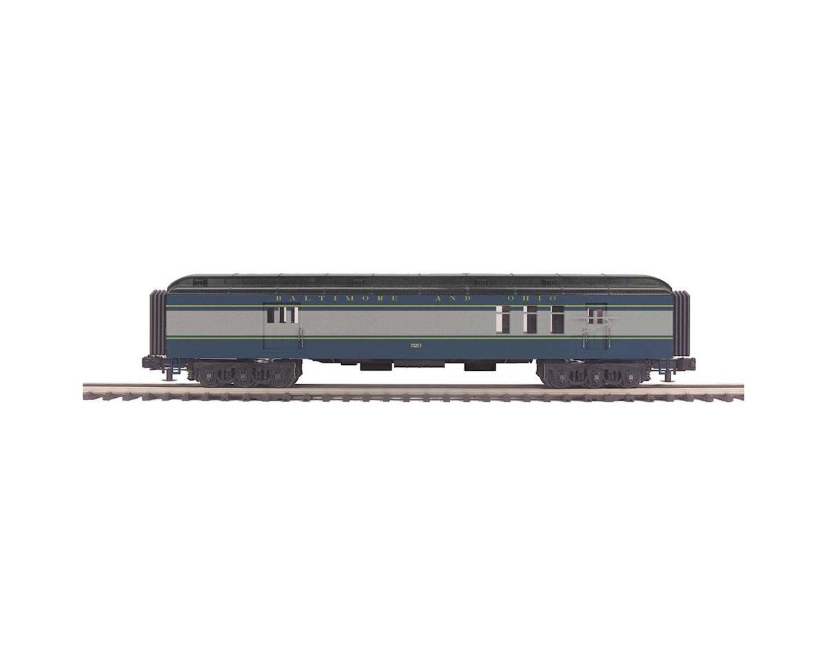 MTH Trains O 70' Madison RPO, B&O/Blue & Gray