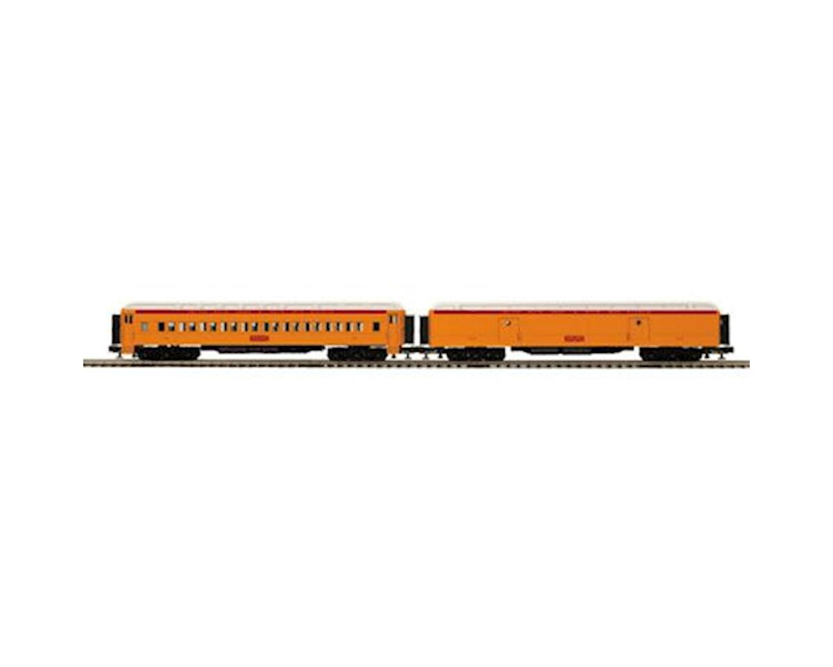 MTH Trains O 70' Madison Baggage/Coach, SSH