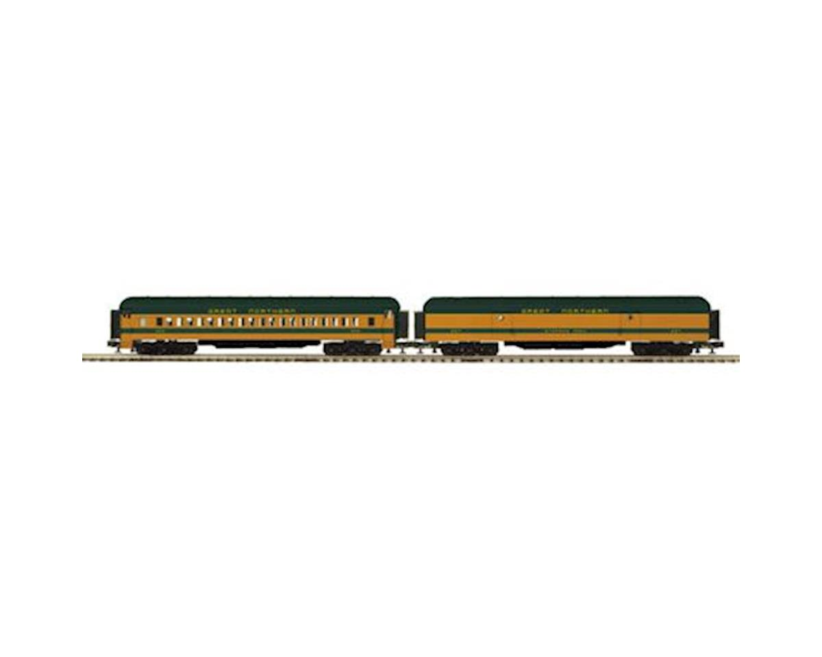 MTH Trains O 70' Madison Baggage/Coach, GN