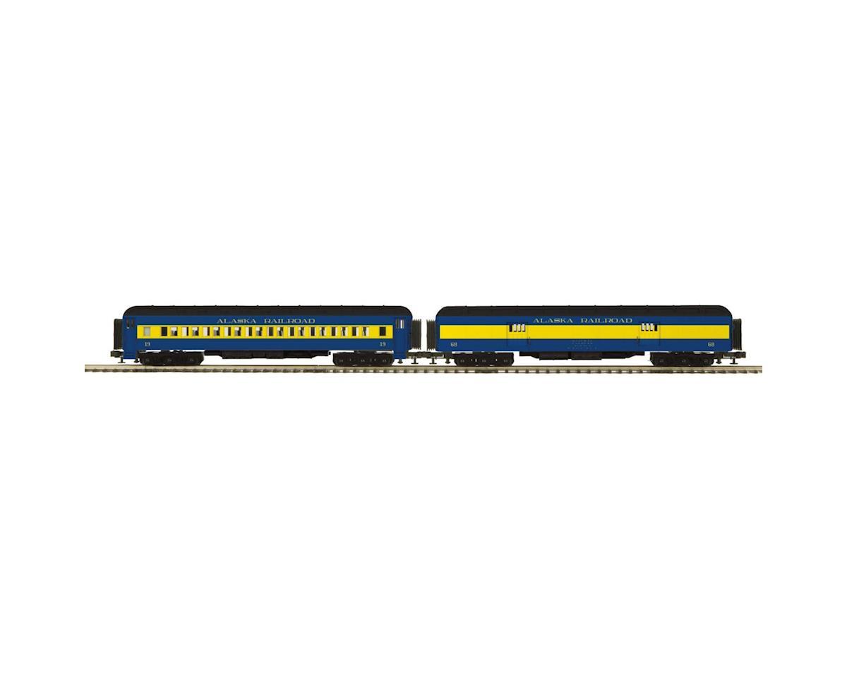 MTH Trains O 70' Madison Baggage/Coach, ARR