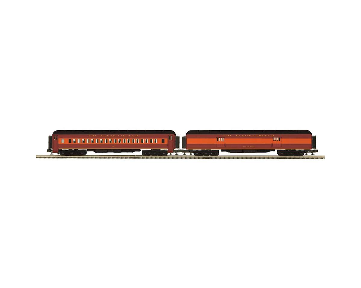 MTH Trains O 70' Madison Baggage/Coach, C&A