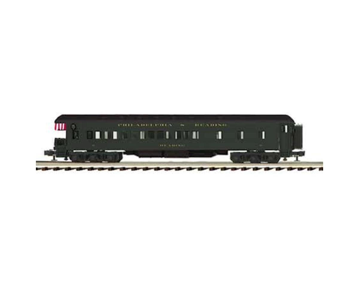 MTH Trains O 70' Madison Observation, P&R/Reading #10