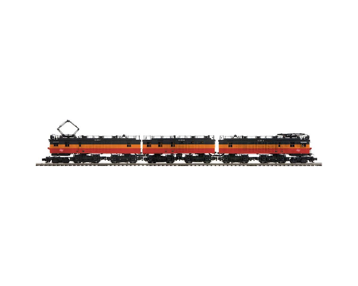 MTH Trains O EF-3 A/B/A w/PS3, MILW #E25A