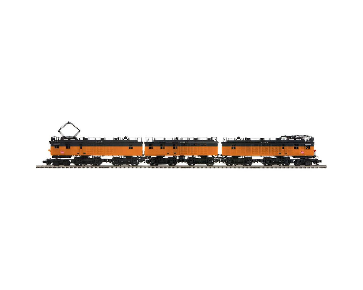 MTH Trains O EF-3 A/B/A w/PS3, MILW #E34A