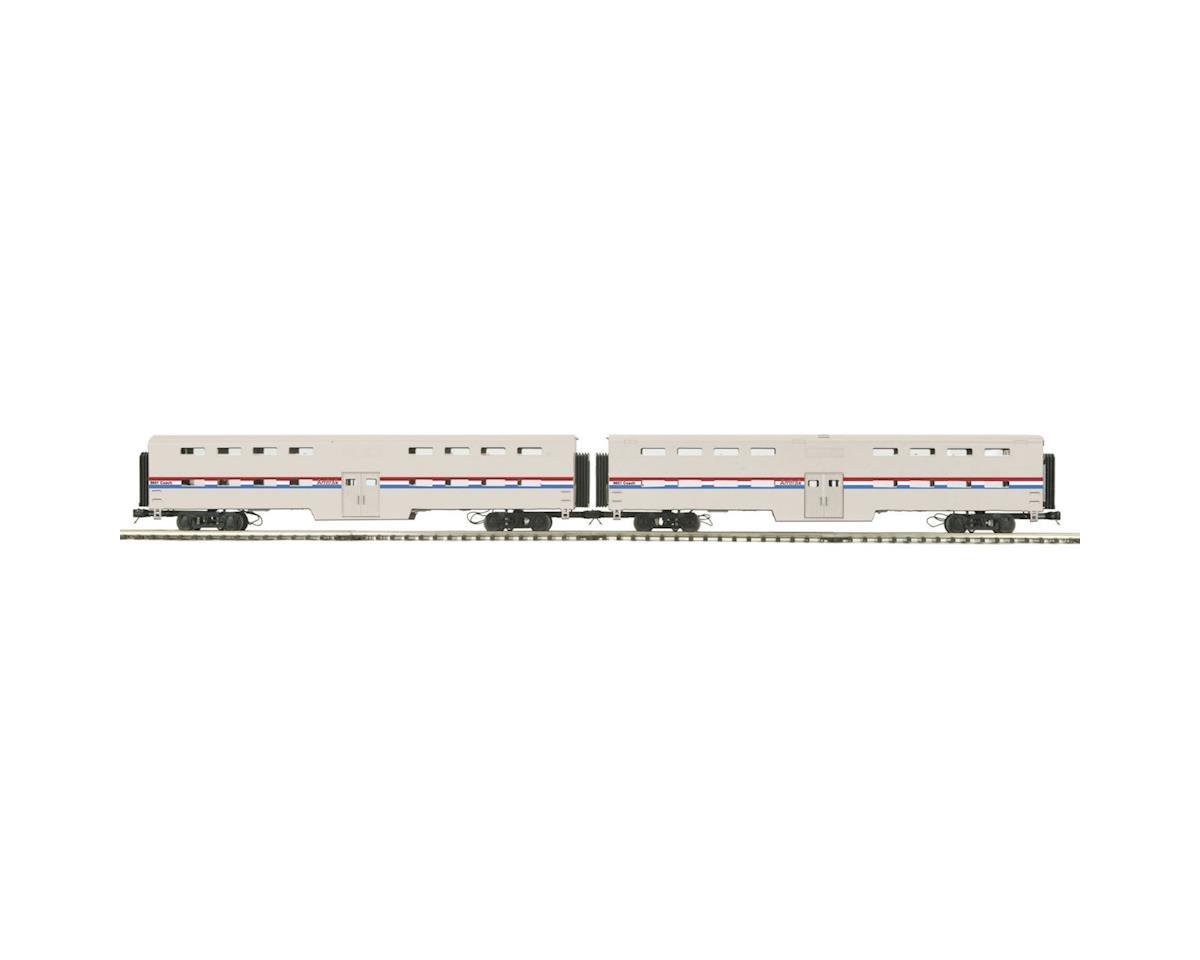 MTH Trains NYA O Bi-Level Passenger, Amtrak/Phase 3(2)