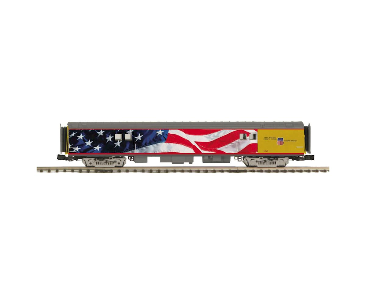 MTH Trains O 70' Smooth Baggage, UP