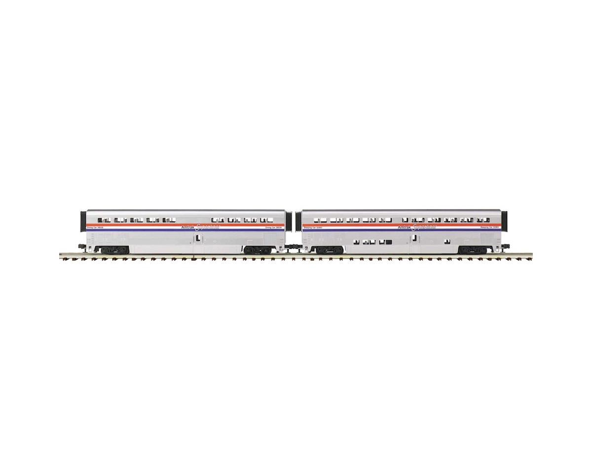 MTH Trains O SuperLiner Coach, Amtrak/Phase III (2)