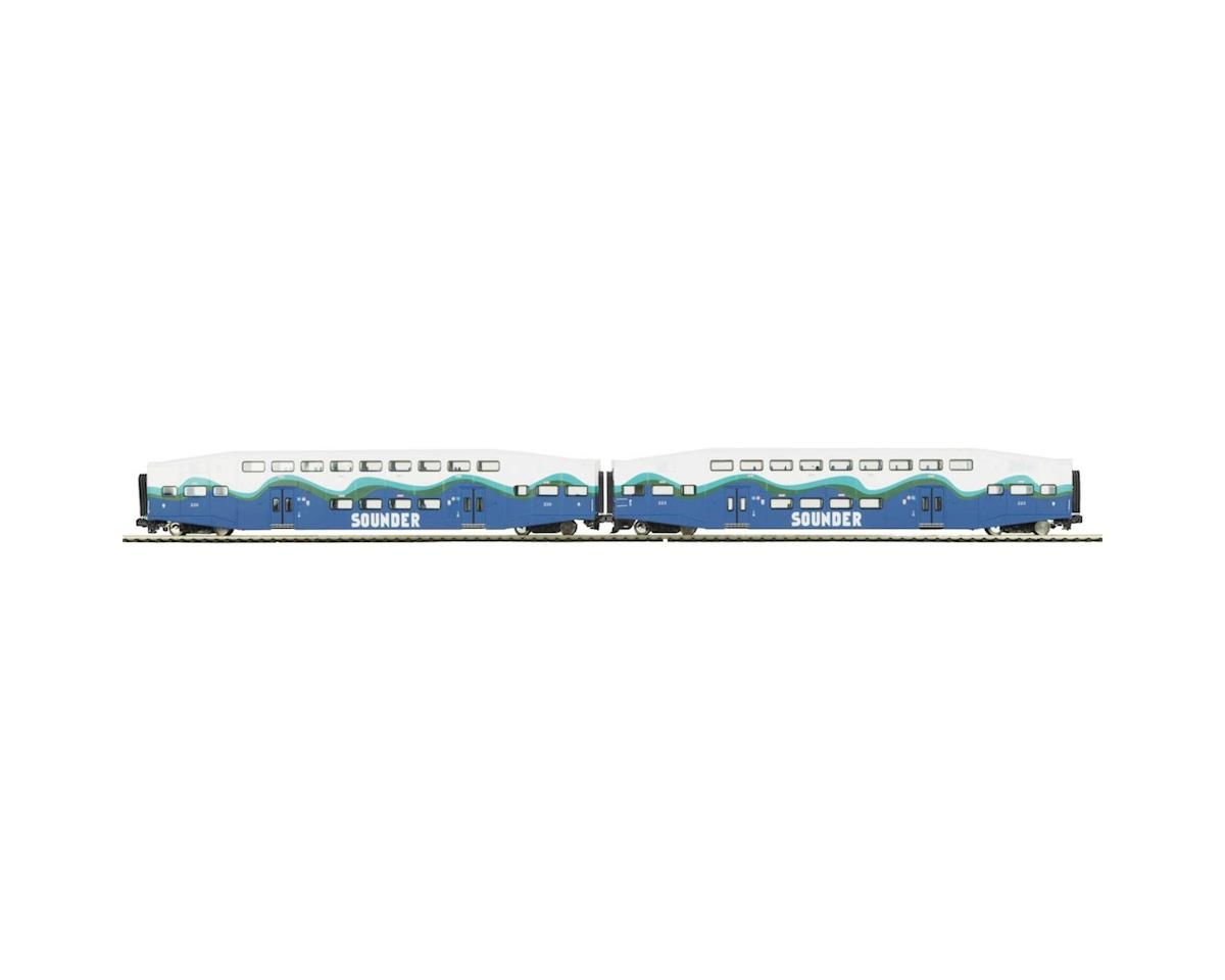 MTH Trains O Bombardier, Sounder (2)