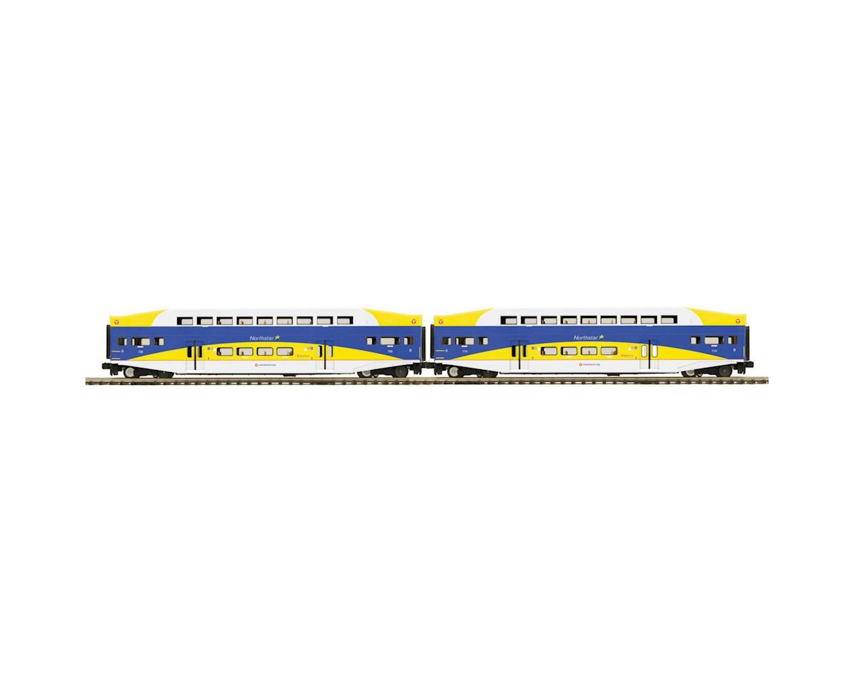 O Bombardier, Metro (2) by MTH Trains