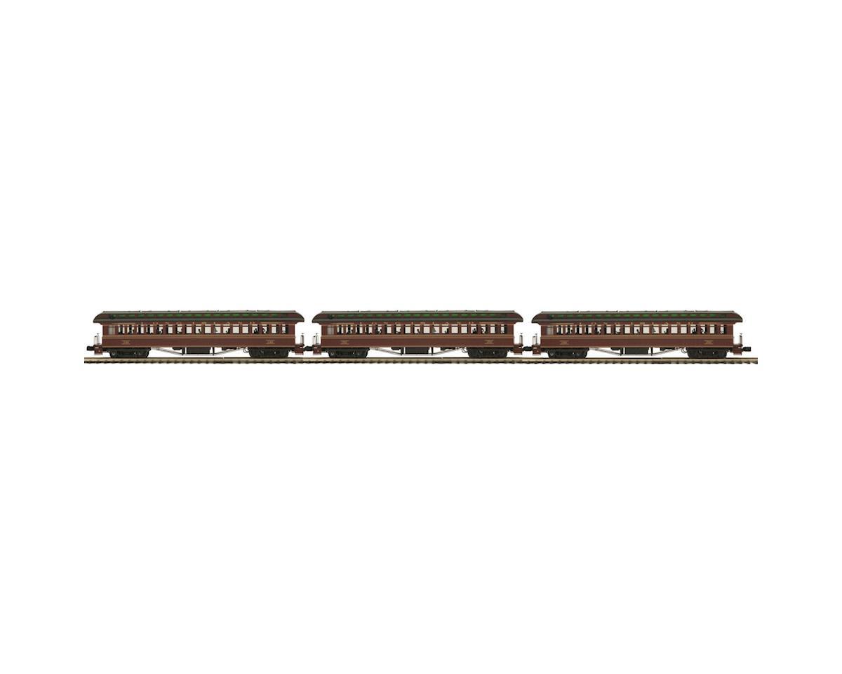 MTH Trains O 64' Wood Coach, LIRR (3)