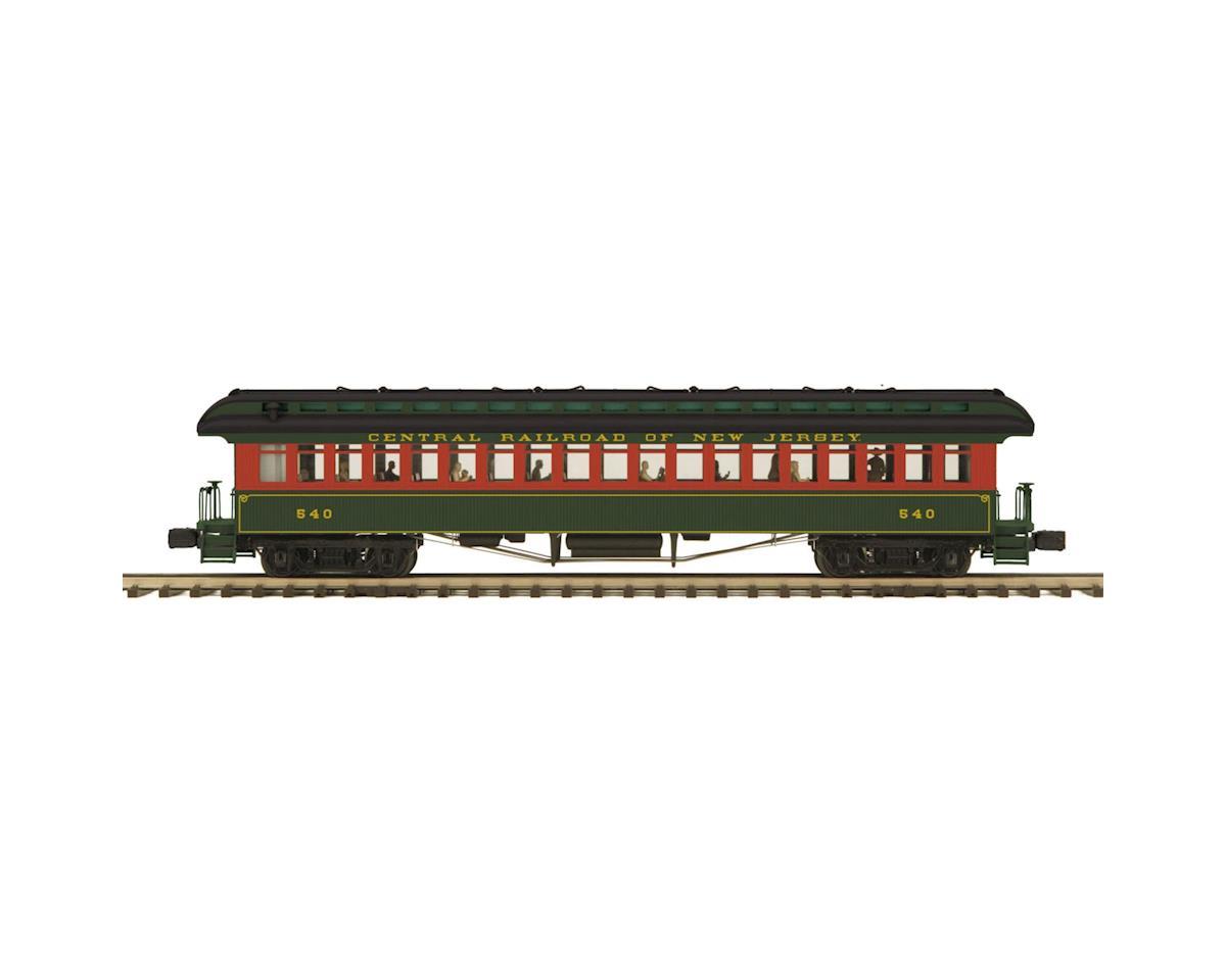 MTH Trains O 64' Wood Coach, CNJ